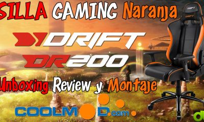 Silla Gaming Toddle alongside with the breeze alongside with the breeze DR200 Naranja (Coolmod.com) Unboxing, Assessment y Montaje