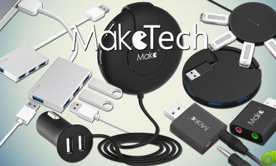 Tarjeta Sonido USB, 2 Hub USB 3.0 y Cargador USB Coche MAKETECH Unboxing y Overview