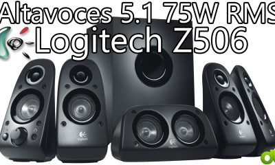 Altavoces 5.1 Logitech Z506 75W RMS Encompass Sound Speakers (Unboxing y Review)