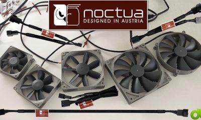 Noctua Ventiladores Redux 140mm 120mm 92mm 80mm y Cables 4-Pin Y   Extensión   Antivibración Review