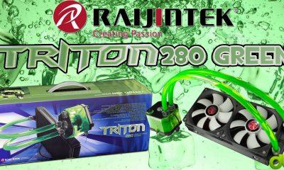 Refrigeración Líquida Raijintek Triton 280 Unboxing, Review, Test y Tutorial en Español