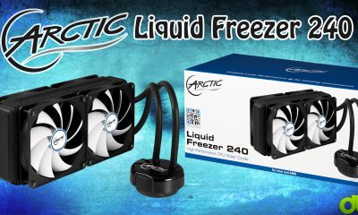 Refrigeración Líquida Arctic Liquid Freezer 240 Unboxing, Review, Test y Tutorial en Español