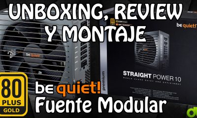 be quiet! Fuente alimentación modular Straight Power CM 700W Unboxing, Review y Montaje