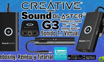 Sound Blaster G3 Amplificador DAC USB Escucha   los Pasos y Mejora Sonido PS4 PS5 Switch PC MAC Review y Tutorial