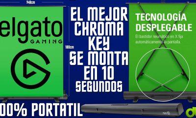 ElGato Green Screen | El mejor Chroma se Monta en 10s y es Portatil | Tela Verde Unboxing y Review
